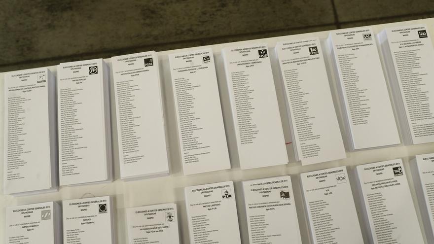 Mañana concluye el plazo para presentar candidaturas ante las Juntas Electorales provinciales