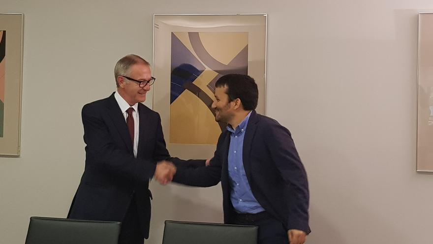 El ministro de Cultura, José Guirao, se reune con el conseller Vicent Marzá