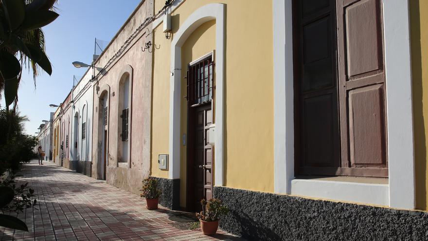 Calle Ladera de Cuyás.