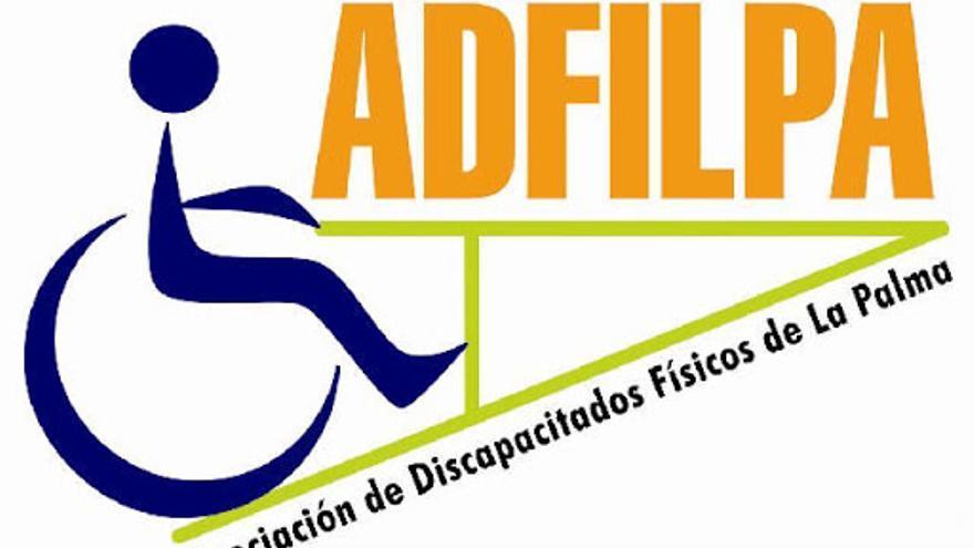 Logo de la Asociación de Discapacitados Físicos de La Palma.