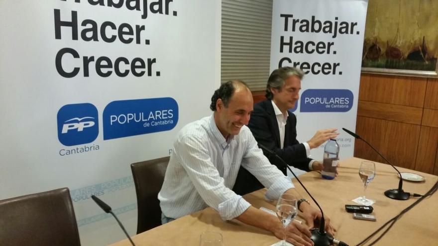 Comienza la rueda de prensa de Ignacio Diego e Íñigo de la Serna