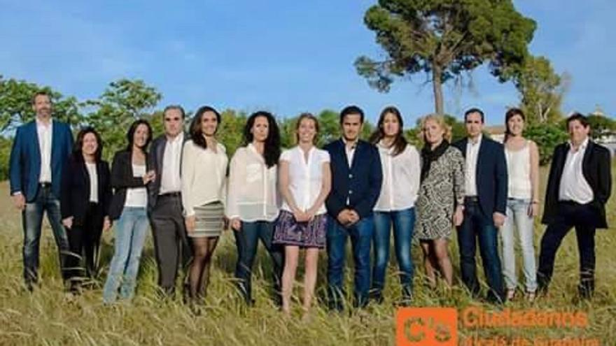Candidatura de Ciudadanos en Alcalá de Guadaíra.