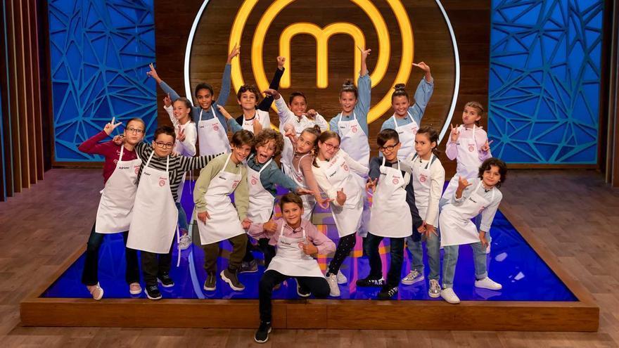 Los concursantes de 'Masterchef Junior 8'