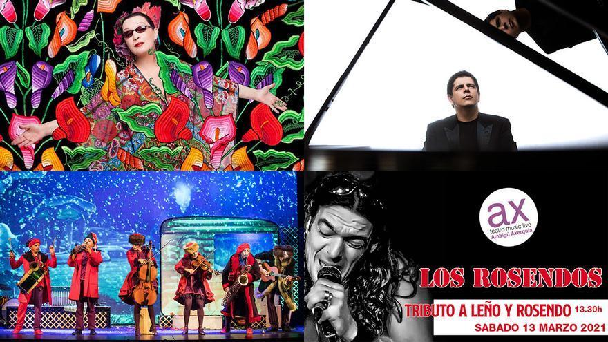 Ciclo cultural con Martirio, obras de teatro y un concierto de piano, citas de la agenda del finde