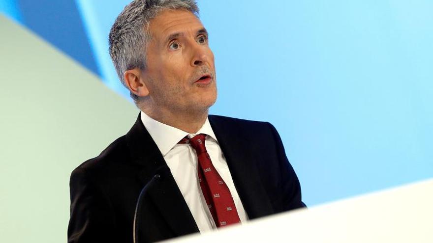 El ministro de Interior, Fernando Grande Marlaska.