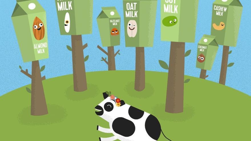 Variedades de leche vegetal según Simple Happy Kitchen