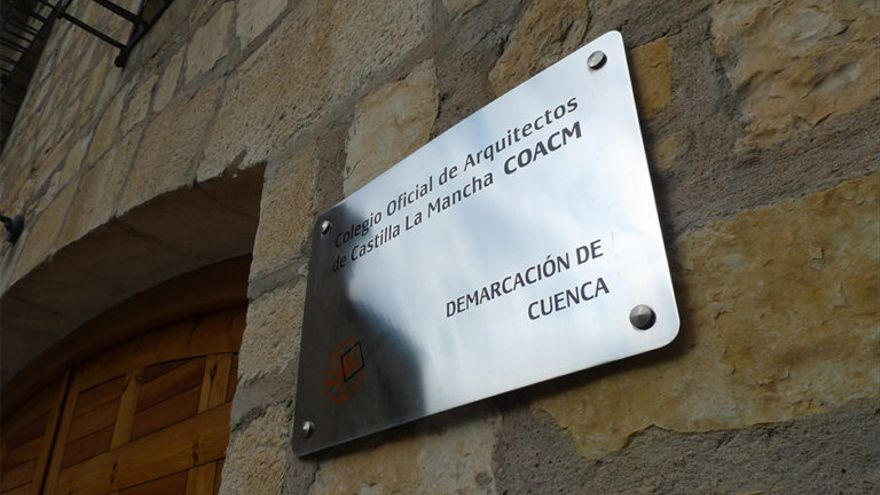 Sede del Colegio de Arquitectos de Castilla-La Mancha en Cuenca