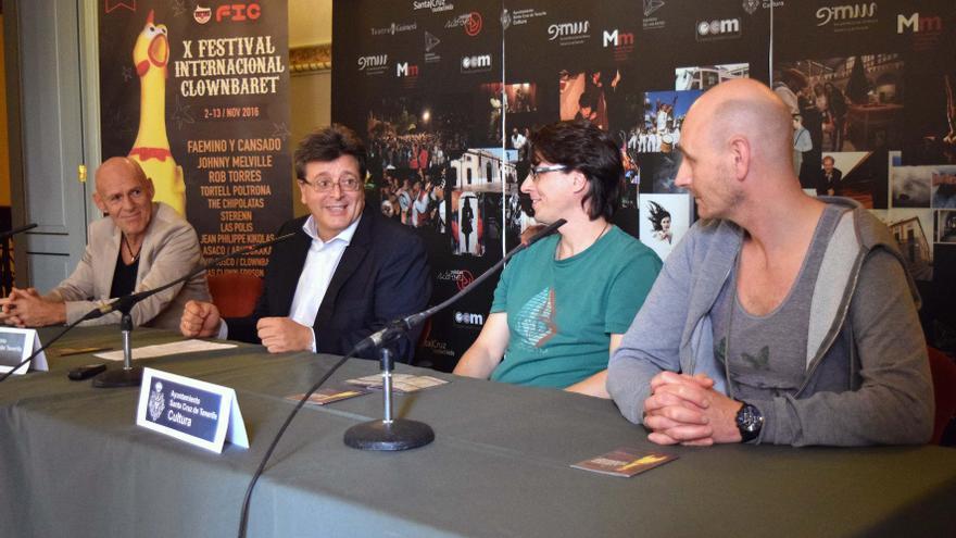 Presentación del festival Clownbaret