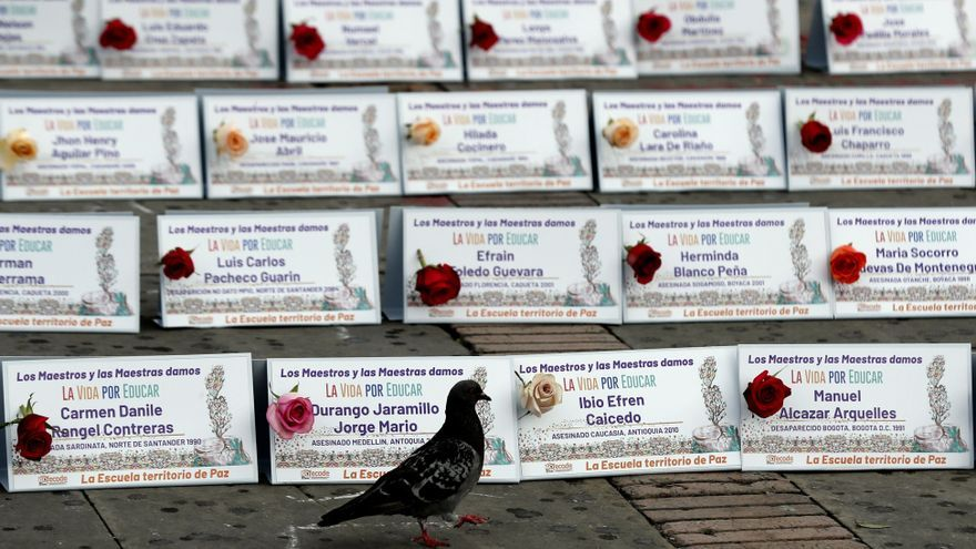 Víctimas plantan cara al Estado colombiano por las violaciones de los DD.HH.