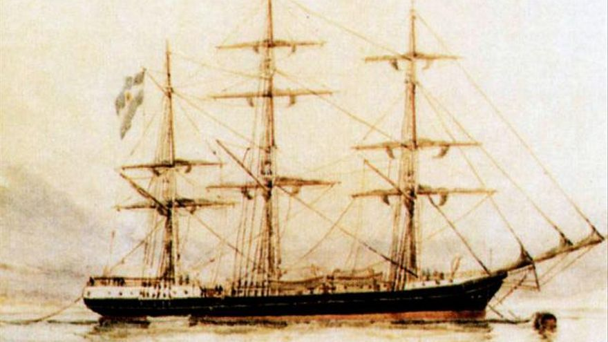 La corbeta Maria Pita