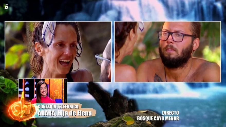 """Carlos Sobera regañó a Adara por saltarse las normas de conexión: """"Esto no estaba previsto"""""""
