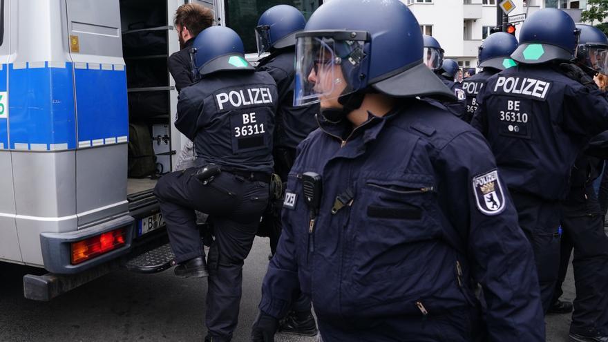 500 detenidos en Berlín en las protestas no autorizadas contra las medidas anticovid