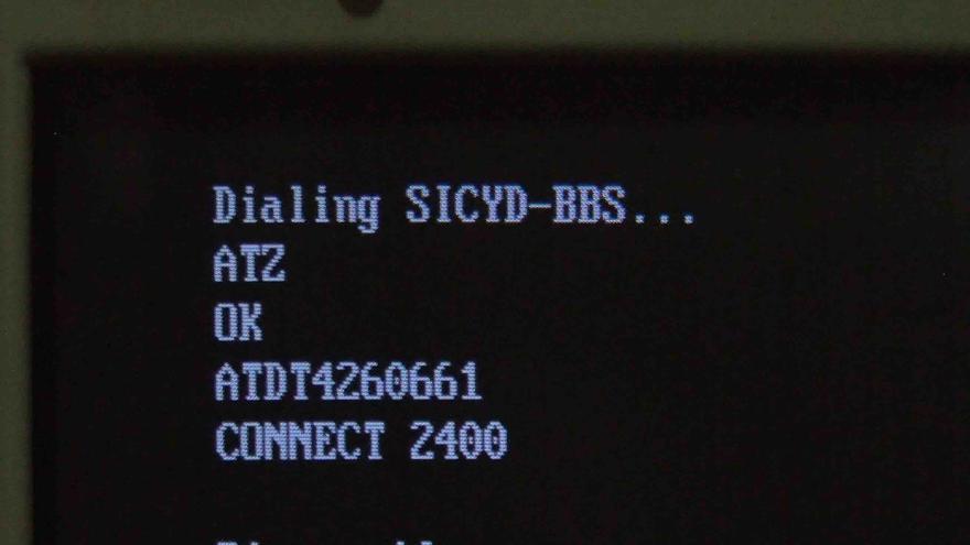 Pantalla principal de la BBS de SICYD