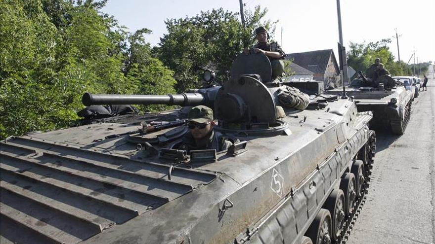El mando ucraniano denuncia intensificación de los ataques prorrusos