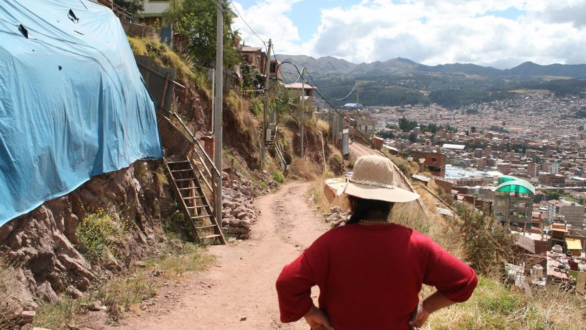 Un barrio en la periferia de Cusco (Perú)
