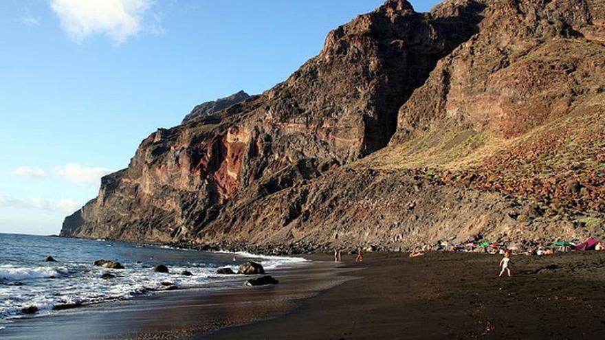 Playa del Inglés en Valle Gran Rey.