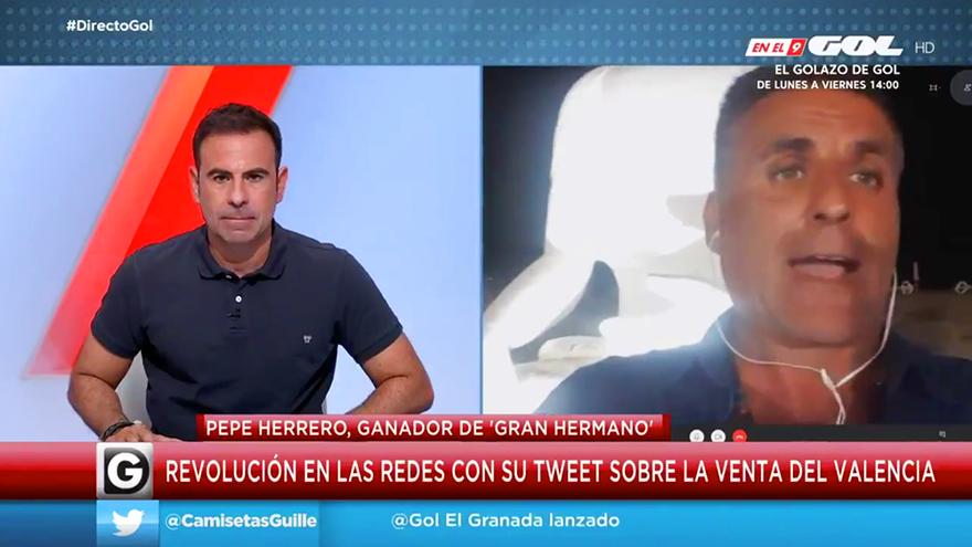 Pepe Herrero, ganador de 'GH 7', reaparece en Gol con una 'bomba' futbolera