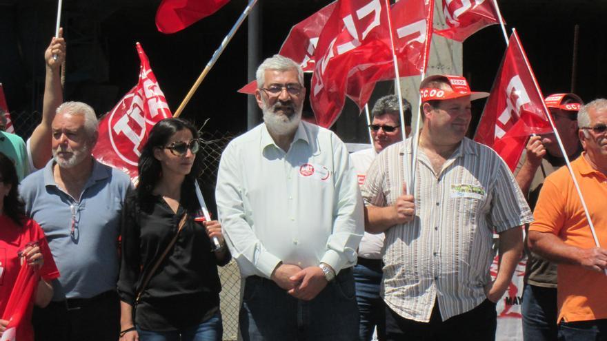 Antonio Martell (i) y Francisco Arrocha, este viernes. Foto: LUZ RODRÍGUEZ