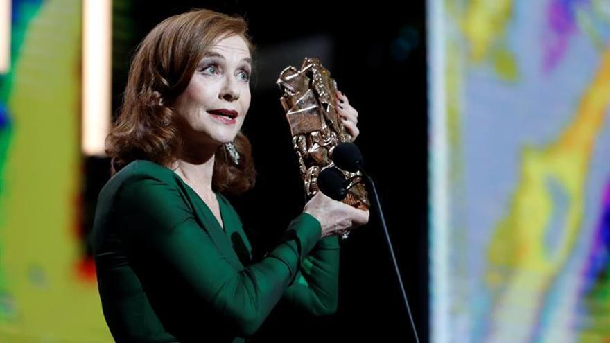 Isabelle Huppert gana el César del cine francés a la mejor actriz