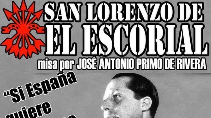 PSOE pide la suspensión de un homenaje a Primo de Rivera en una parroquia de San Lorenzo del Escorial (Madrid)