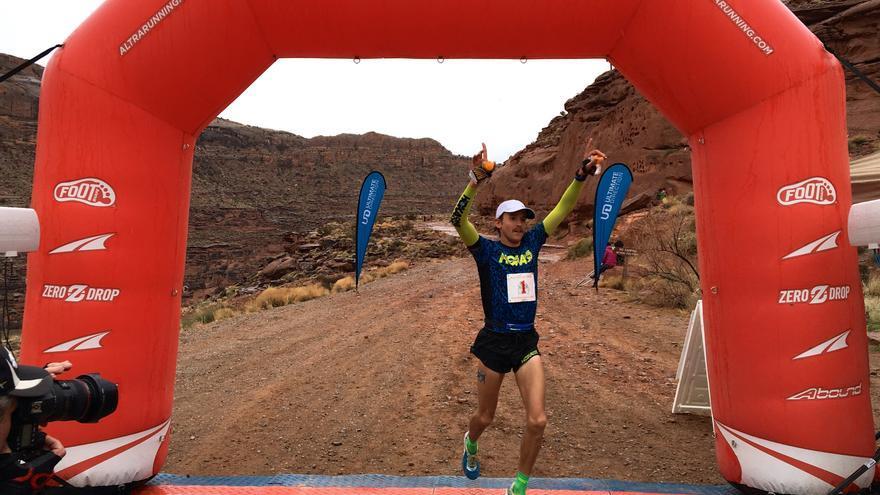 En la imagen, el corredor Hayden Hawks.