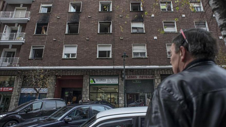 El Gobierno Vasco ofrece viviendas sociales a los afectados por el incendio