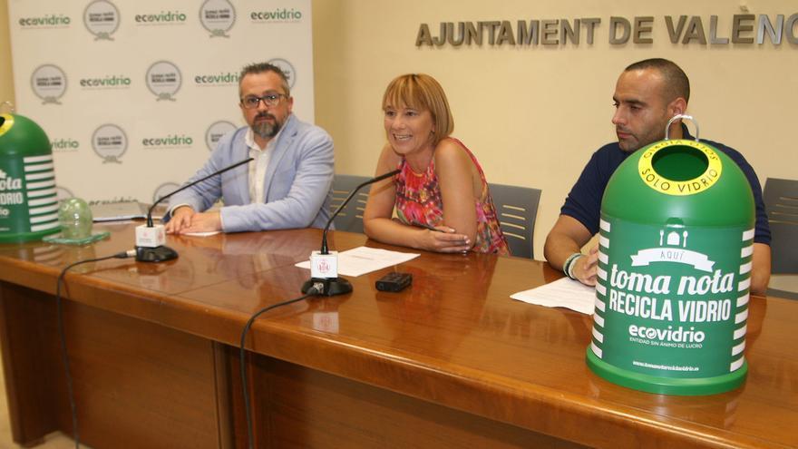 La concejala de Medio Ambiente, Pilar Soriano, en la presentación de la campaña