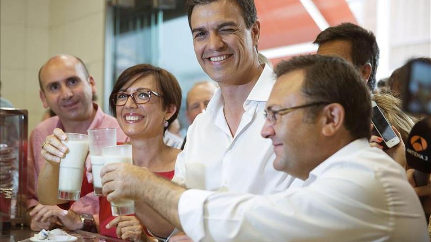 """Pedro Sánchez dice que el PP es """"el centro de todo lo que hay que desterrar"""""""