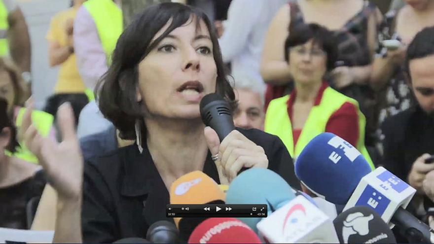 Simona Levi, portavoz del Partido X