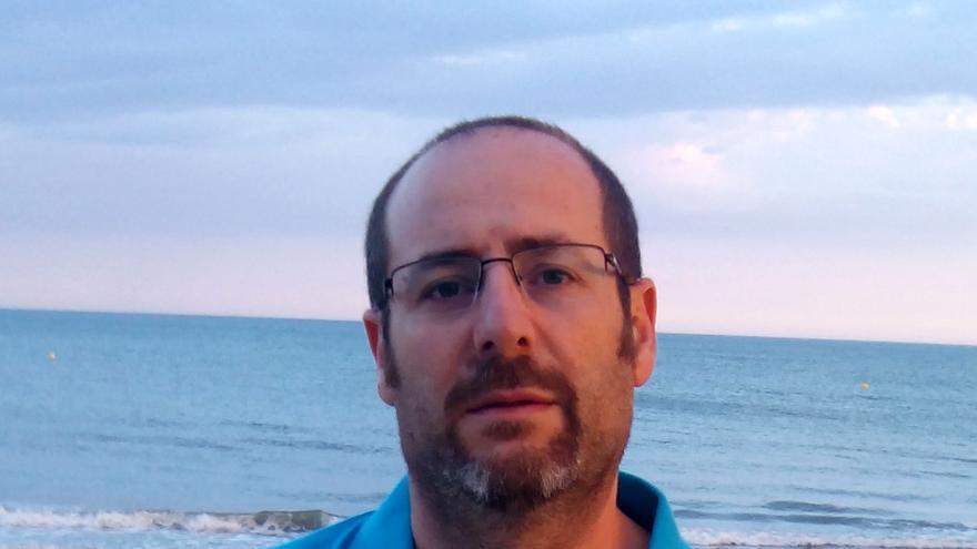 José Antonio Molero, profesor de Secundaria y en la Escuela de Idiomas