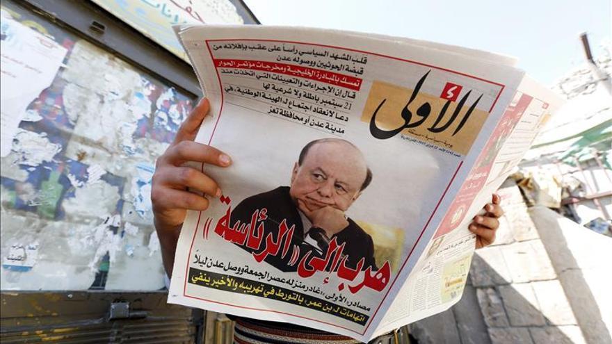 El presidente yemení estudia declarar Adén como capital provisional del Yemen