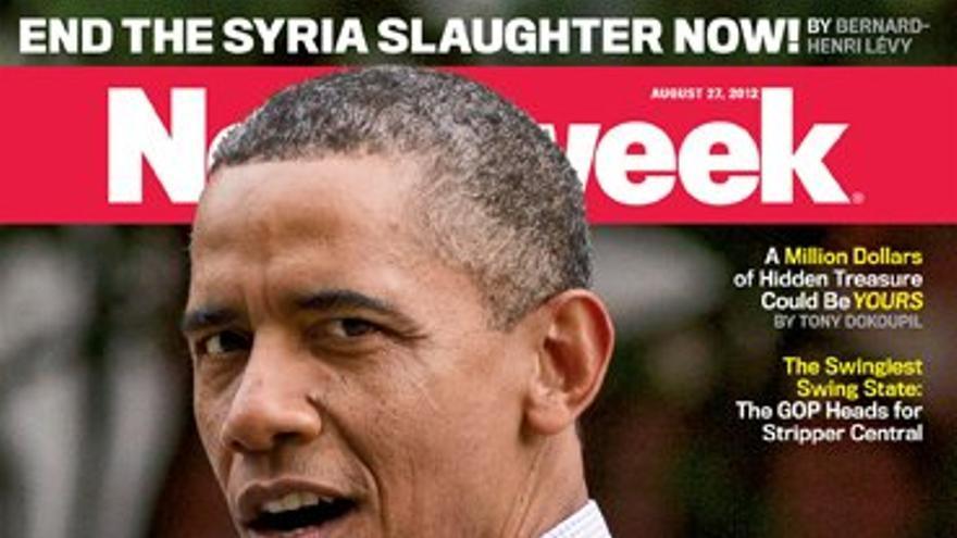 Una de las portadas de Newsweek.
