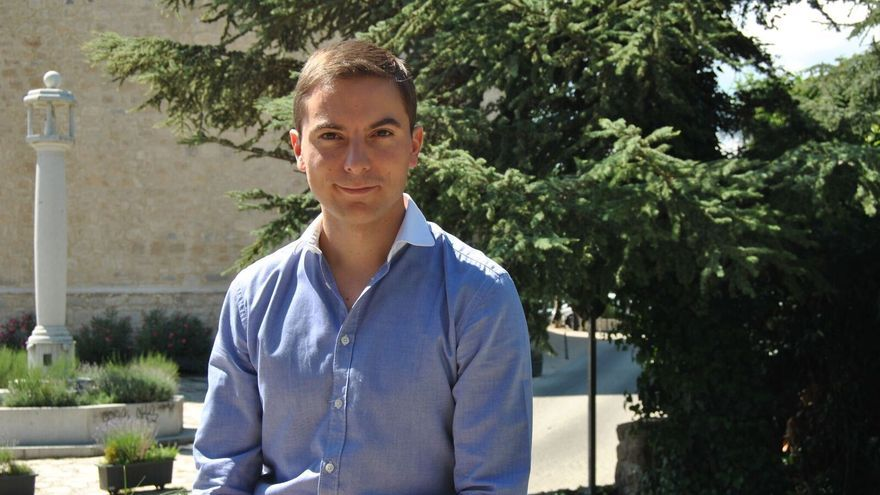 El candidato a liderar el PSOE de Madrid Juan Lobato.