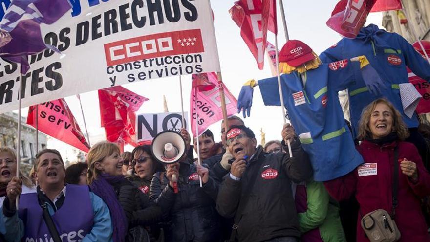 Hojas (UGT): la huelga general no está en el horizonte, pero no se descarta