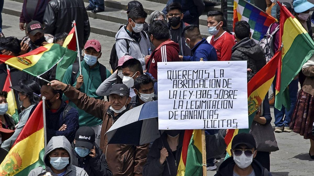 Presidente boliviano enfrentó el primer paro opositor y este martes marcha el oficialismo - elDiarioAR.com