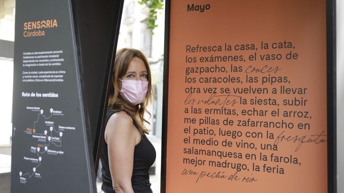 Marian Aguilar en una de las cabinas del programa 'Sensoria'