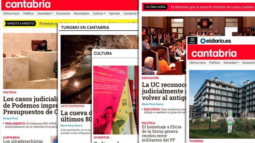 Portadas de eldiario.es Cantabria