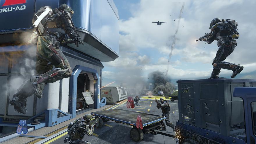 L'entorn virtual serveix de primer contacte amb les pràctiques militars. Imatge del videojoc 'Call of Duty'.