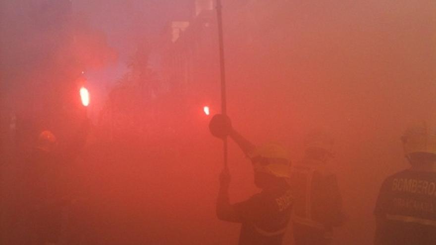 De las protesta de los bomberos #5