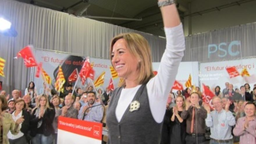 Carme Chacón. (EUROPA PRESS)