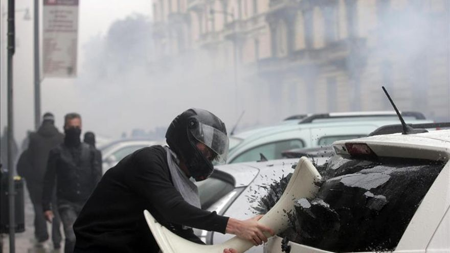 La Justicia de Milán dicta prisión cautelar para los detenidos en los disturbios