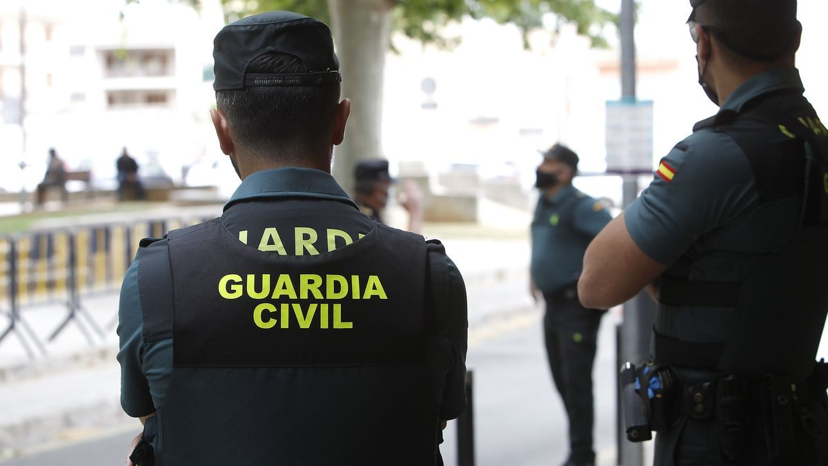 Imagen de archivo de la Guardia Civil en Mallorca