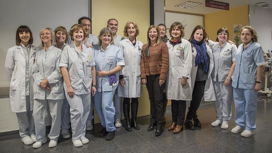Enfermeras del CHN participan en un proyecto nacional para la mejora del cuidado a pacientes con demencia hospitalizados