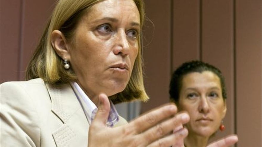 Mercedes Roldós, consejera de Sanidad del Gobierno de Canarias.