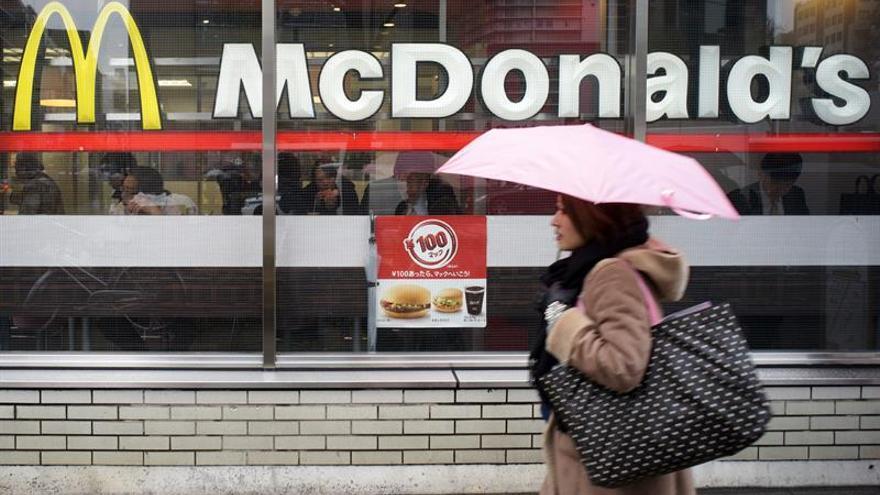 Los beneficios semestrales de McDonald's suben un 10 %