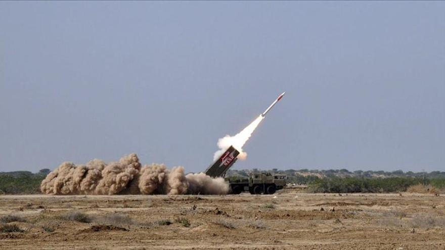 Pakistán prueba un misil táctico de corto alcance con capacidad nuclear