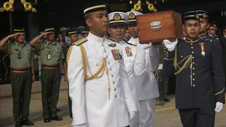 Malasia entrega a EEUU los restos de 3 militares muertos en 1945