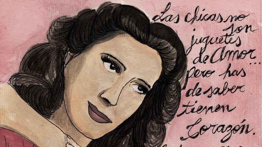 Ilustración '365 mujeres ilustradas'/ por Romina Demás-Argentina