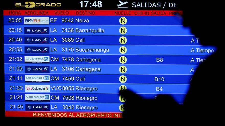 Aumentan las medidas de inspección de equipaje en los vuelos de Colombia a EE.UU.