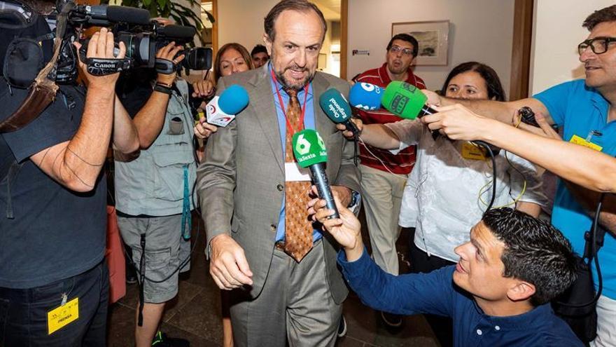 El negociador de Vox en Murcia Luis Gestoso.
